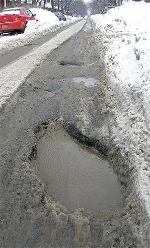 31  Look into car insurance comparison sites and avoid pothole accident expenses