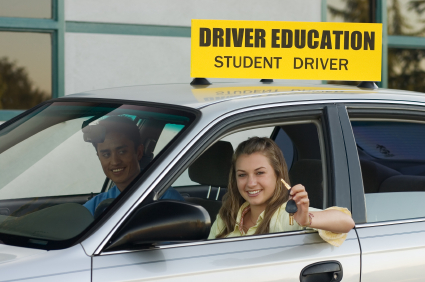 teen driver Get lower car insurance by polishing your driving skills with help of your parents