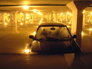 48767 car park flood 3 Car insurers Pay Out £35m Due To Flood Damage