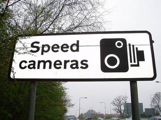 Car insurance premiums may increase if you are caught speeding