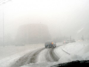 car insurance claims increase in wintry weather